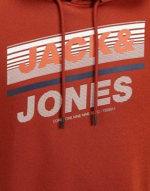 12191028 red 7 300x383 - Pánská mikina Jack & Jones