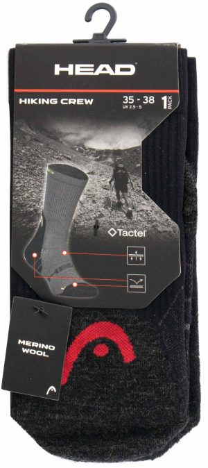 701101001 001 2 300x674 - Ponožky Head Hiking Sock 1 pár