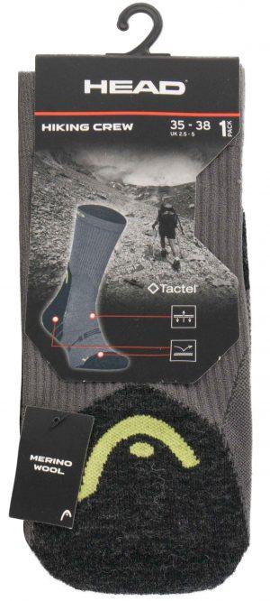 701101001 002 2 300x666 - Ponožky Head Hiking Sock 1 pár