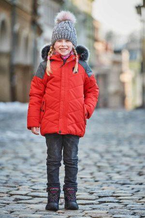 kjcu228423 3 300x450 - Dětská zimní bunda ALPINE PRO ICYBO 5