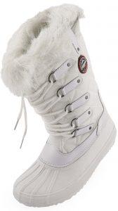 matti white 1 168x300 - Dámská zimní obuv Geographical Norway