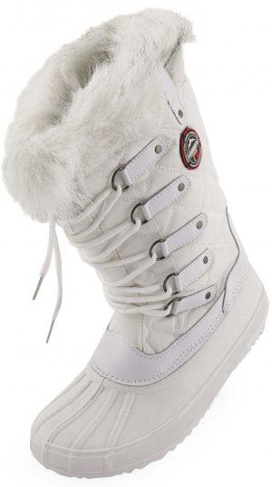 matti white 1 300x536 - Dámská zimní obuv Geographical Norway