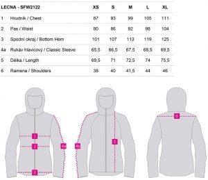 sfw2122 t62xt 9 300x259 - Dámská softshellová bunda Loap LECNA
